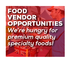 FOOD VENDOR OPPORTUNITIES