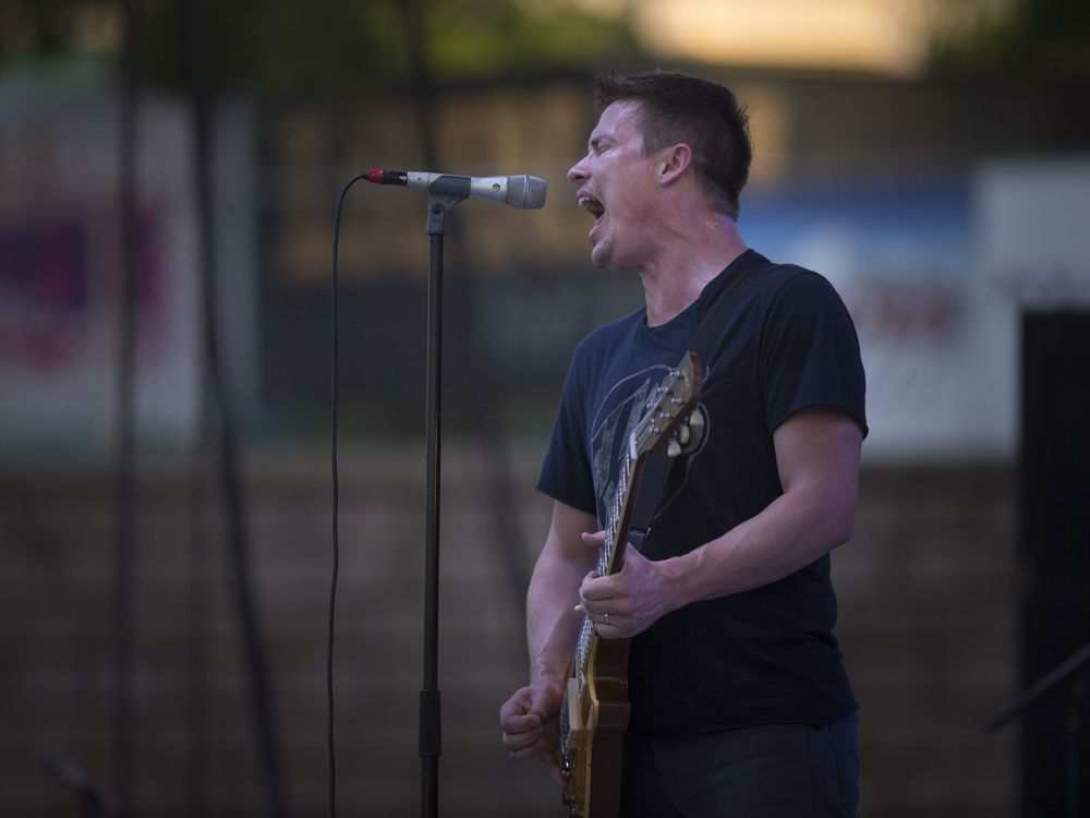 Jonny Lang performs on the third night of the LiUNA Bluesfest Windsor at the Riverfront Festival Plaza, Saturday, July 14, 2018. DAX MELMER / WINDSOR STAR